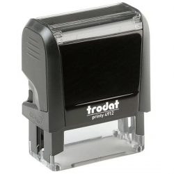 Trodat Printy 4912 Practitioner Stamp (up to 4 lines)
