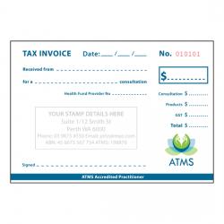 ATMS Receipt Books (Duplicate)